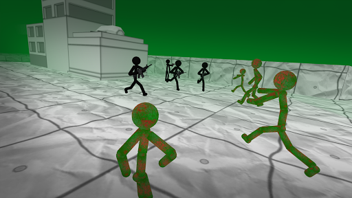 Stickman Contre Zombie 3D  captures d'écran 2