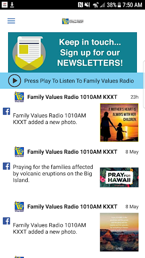 family values 1010am kxxt screenshot 1