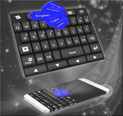 PC Keyboard Black - screenshot