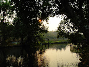 Photo: Evening by the River