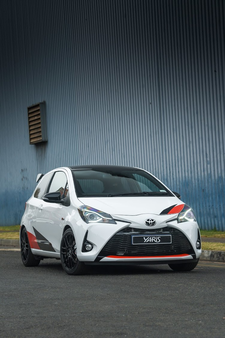 Toyota's performance division is rumoured to be planning an Auris hot hatch to follow the limited-edition Yaris GRMN (pictured). Picture: Motorpress