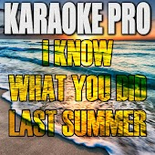 I Know What You Did Last Summer (Originally Performed by Shawn Mendes) (Instrumental Version)