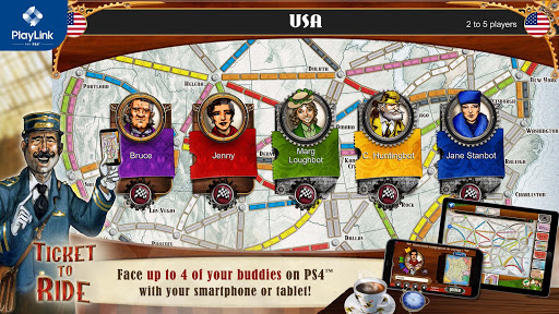 Ticket to Ride for PlayLink 2.5.10-5847-64a9d8c2 screenshots 1