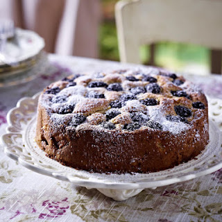 Blackberry, Pear and Ginger Cake