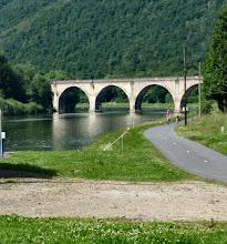 Photo: Dieses Viadukt sah ich während der OP