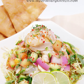 Shrimp Aguachile.