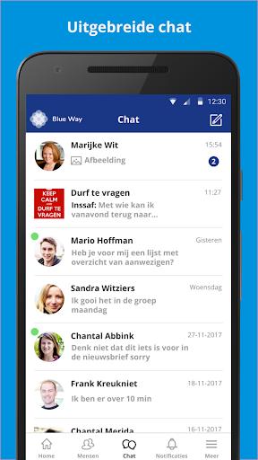 Blue way screenshot 2