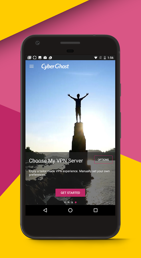 CyberGhost VPN- screenshot