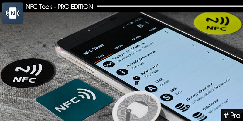 NFC Tools - Pro Edition Screenshot