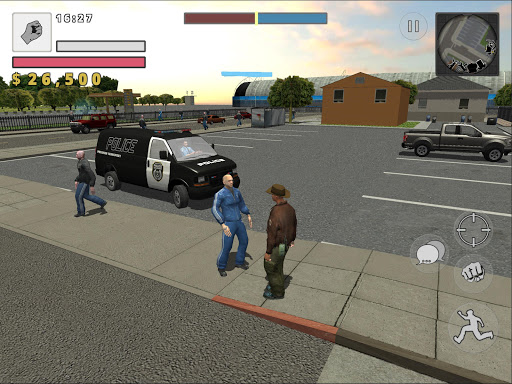 Police Cop Simulator. Gang War apkmr screenshots 11