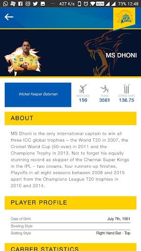 Code Triche Chennai Super Kings APK MOD screenshots 5