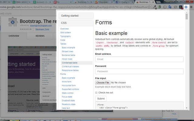 Bootstrap. The responsive front-end framework