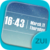ZUI Locker Theme - Pure Sky