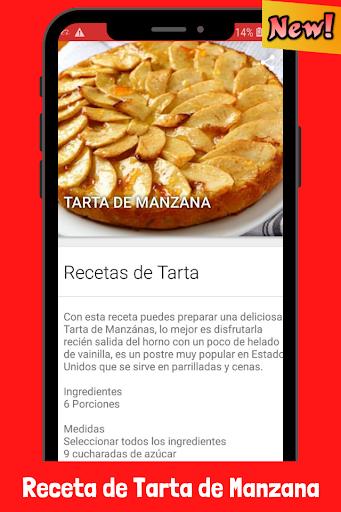 Recetas de Tarta de Manzana fácil screenshot 4