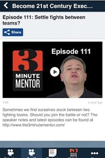 The 3 Minute Mentor- screenshot thumbnail