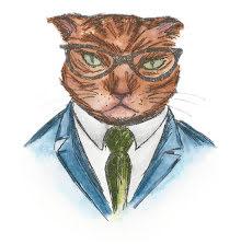 Tim Holtz Sizzix Thinlits Die Set 4/Pkg - Hipster Cat