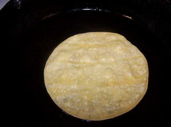 Dip tortillas in heated oil.(just long enough to soften) Avoid getting the oil too...