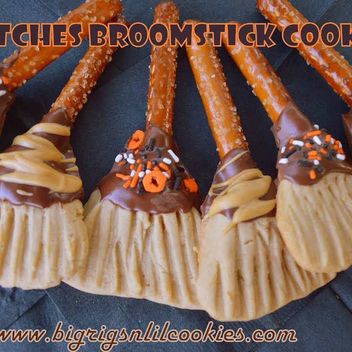 Broomstick Cookies