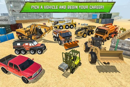 Construction Site Truck Driver App Download For Android and iPhone 5