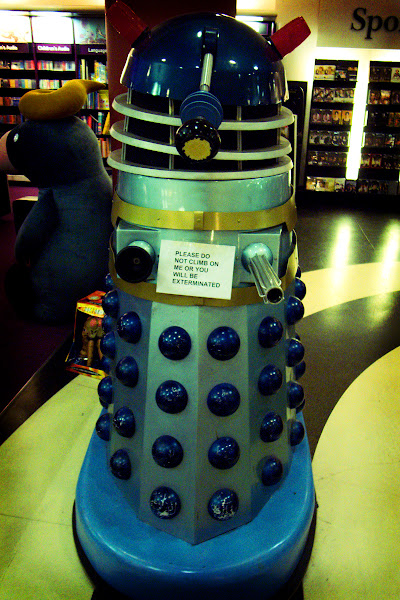 """Photo: """"Please do not climb on me or you will be exterminated."""""""