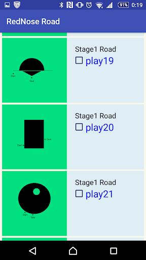 miniCar RedNose Road Free 2.07 screenshots 1