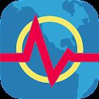 Terremoto Plus - Mapa, Info, Alertas y Noticias icon
