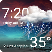 App Weather & Clock Widget APK for Windows Phone