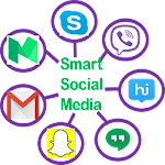 Smart Social Media Icon