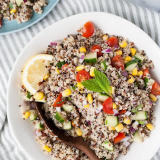 Simple Quinoa Salad.