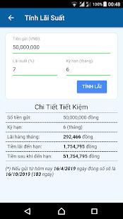 Tính Lãi Suất Ngân Hàng for PC-Windows 7,8,10 and Mac apk screenshot 2