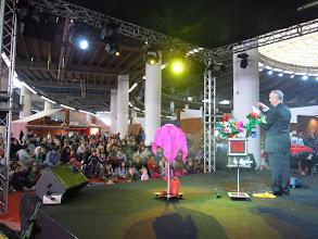 Photo: Mr Brigt e il pubblico della Fiera di Genova