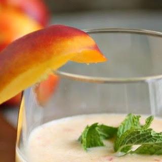 Creamy Frozen Nectarine Blitz