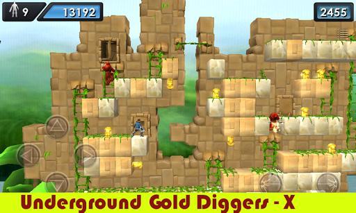 地下ゴールドディガー - X