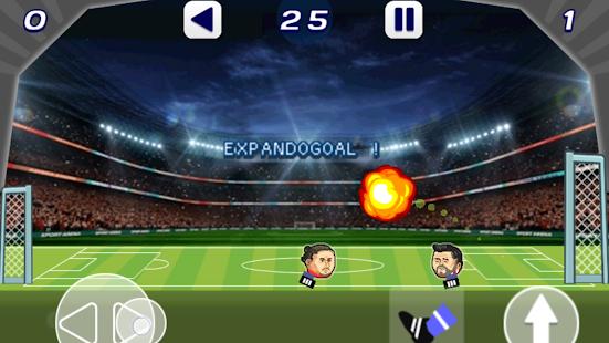 Fotbal Hlavy fotbalové utkání - náhled