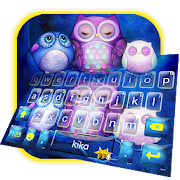App Starry Night Cute Owl Keyboard Theme APK for Windows Phone