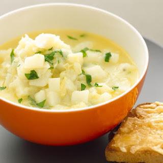 Creamy Crockpot Potato Soup.