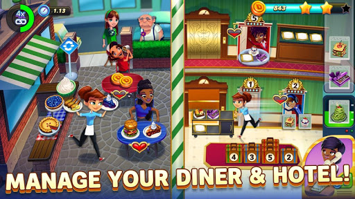 Diner DASH Adventures – a cooking game  screenshots 2
