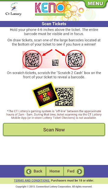 Top Five Lottery Scratch Off Scanner - Circus