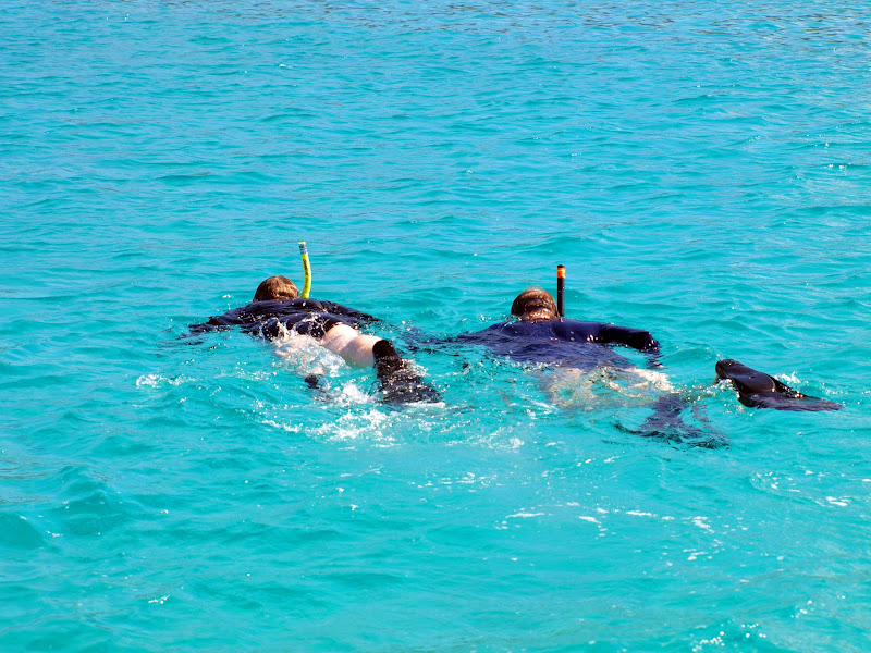 Photo: Snorkeling in Galapagos