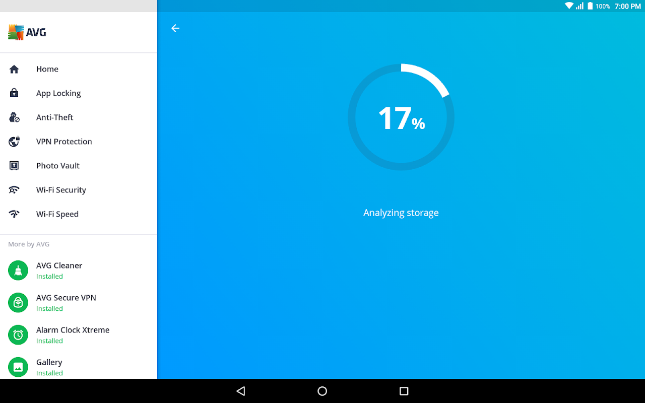 AVG AntiVirus 2019 for Android Security screenshots