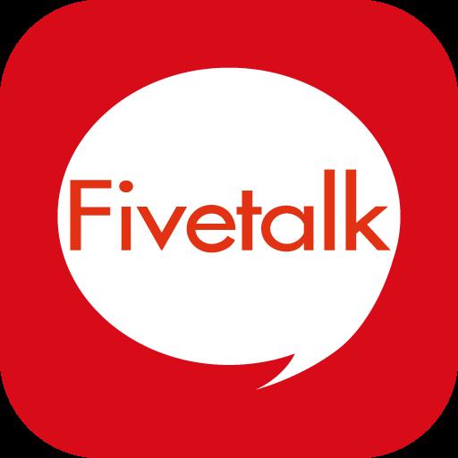 免费的绘图聊天通话Fivetalk 社交 App LOGO-硬是要APP