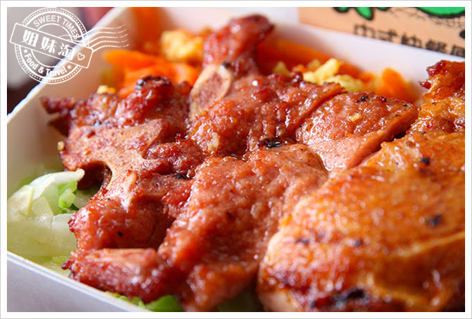 桌上賓中式快餐排骨加雞腿3