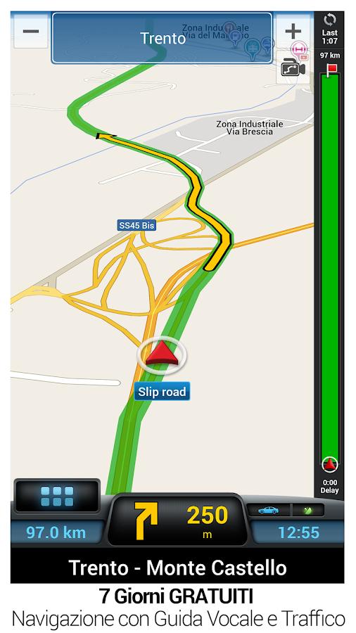 CoPilot GPS - Navigazione- screenshot