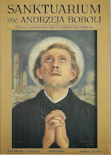 Photo: Obraz olejny przedstawiający św. Andrzeja Bobolę, namalowany w Jerozolimie w 1942 r. Autor - Wlastimir Hofman.