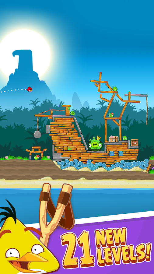 Angry Birds- screenshot
