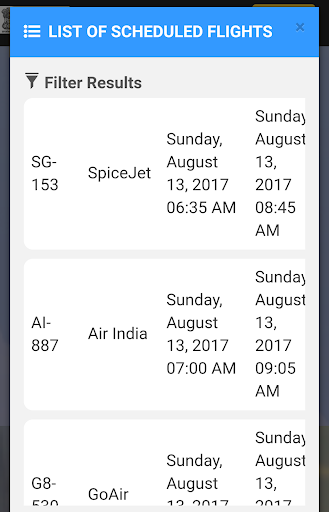 Flight Status, Arrivals, Departures & Airport Info app (apk) free download for Android/PC/Windows screenshot
