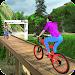 MTB Downhill BMX Bicycle Stunt Rider icon