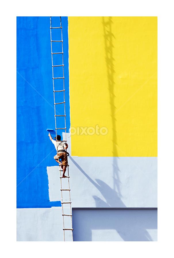 Sắc màu cuộc sống by Kenji Le - People Street & Candids