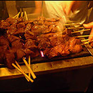 Anticuchos (Beef Heart on Skewers)