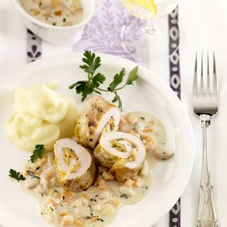 Karotten-Kalbsrouladen
